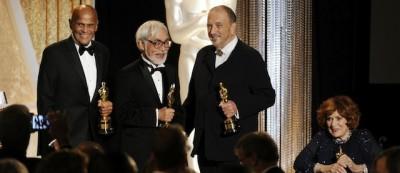La premiazione di tre Oscar onorari – Foto