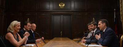 I finanziamenti russi al Fronte Nazionale