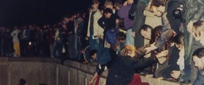 La caduta del Muro di Berlino, il doodle