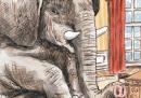 La copertina del New Yorker su Obama e la vittoria dei repubblicani