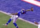 Lo spettacolare touchdown di Odell Beckham