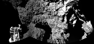 Philae è sulla cometa, ma con qualche guaio