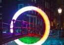 Le foto del Festival delle luci ad Amsterdam