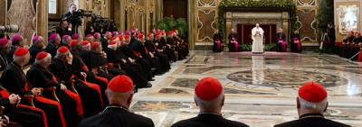 Le malattie della Curia secondo il Papa
