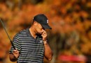 La goffa giornata di Tiger Woods