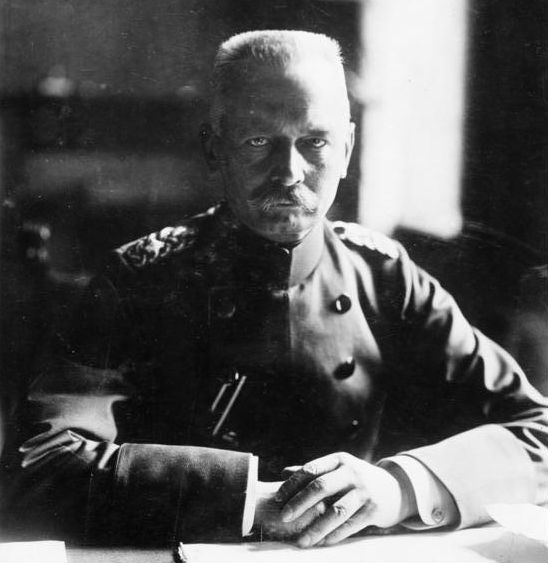 Il generale Erich von Falkenhayn