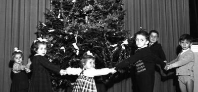 Vecchie foto di Natale a Torino