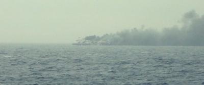 L'incendio sulla Norman Atlantic