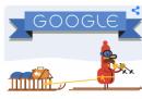 Buone feste da Google, come sempre