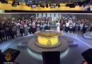 Il minuto di silenzio dei giornalisti di Al Jazeera per i colleghi incarcerati in Egitto