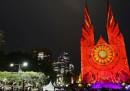 Le notevoli luci natalizie di Sydney