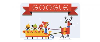Buone feste da Google, primo giorno