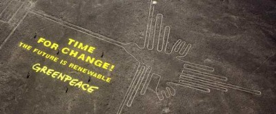 Il Perù dice che Greenpeace ha fatto un guaio