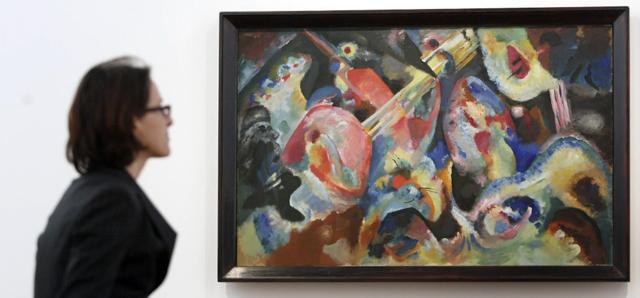 Wassily kandinsky e la pittura astratta il post for Quadri pittura astratta