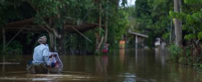 L'alluvione in Malesia