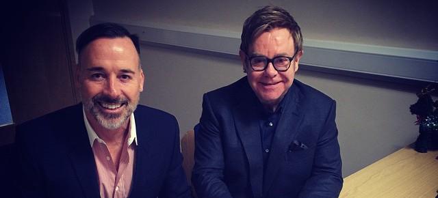 Il matrimonio di Elton John su Instagram