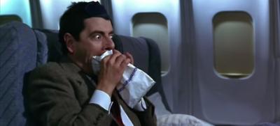 Si vomita meno in aereo?