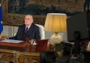 Il discorso di Napolitano in streaming