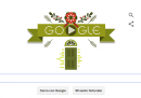 Il doodle di Natale, per augurare buone feste