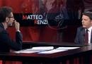 """Matteo Renzi a """"Che tempo che fa"""" – video"""