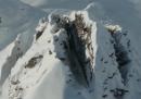 Una discesa con gli sci in soggettiva