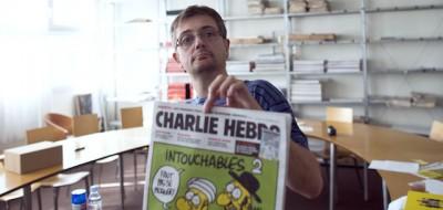 Charb: «Preferisco morire in piedi che vivere in ginocchio»