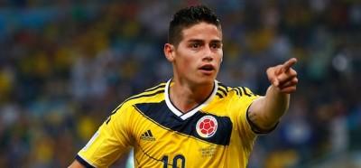 James Rodríguez ha vinto il premio per il gol più bello del 2014