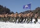 Le solite tamarre esercitazioni militari sotto la neve in Corea del Sud