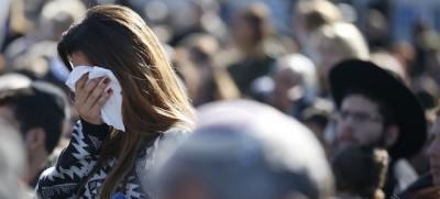 I funerali dei morti negli attacchi di Parigi