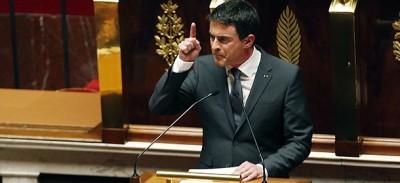 L'applaudito discorso di Manuel Valls