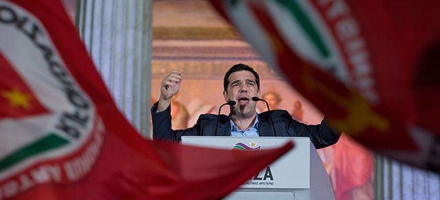 Results Are Declared In The Greek General Election