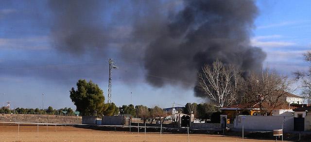 L'incidente aereo ad Albacete in Spagna