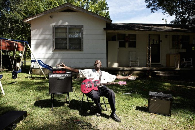 Vecchi musicisti blues del Mississippi