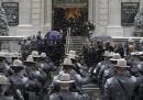 Le foto del funerale di Mario Cuomo