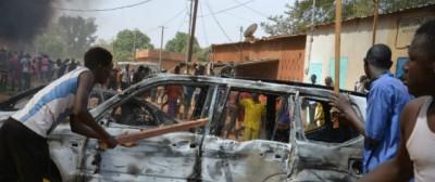 Le proteste contro Charlie Hebdo in Niger
