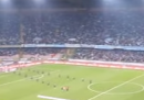 Napul'e di Pino Daniele suonata (e cantata) allo stadio San Paolo di Napoli