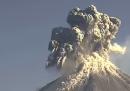 L'eruzione del vulcano Colima, in Messico