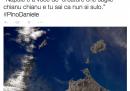 Il tweet di Samantha Cristoforetti per Pino Daniele