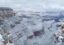 Le foto del Grand Canyon innevato