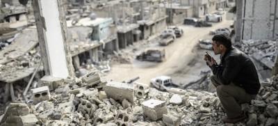 Le foto di Kobane liberata
