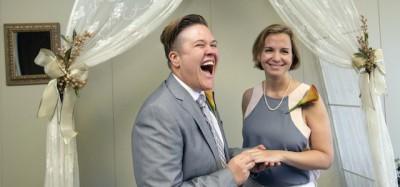 Le foto dei primi matrimoni gay in Florida