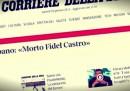 La non morte di Fidel Castro