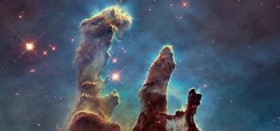 """La grandiosa foto dei """"Pilastri della Creazione"""""""