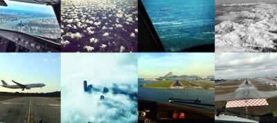 Le foto dei piloti di aerei su Instagram
