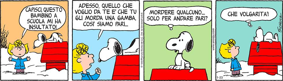 Peanuts 2015 gennaio 23 - Il Post