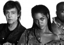 La nuova canzone di Rihanna, Kanye West e Paul McCartney