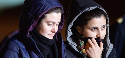 Le volontarie italiane rapite in Siria sono tornate in Italia