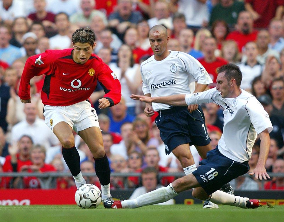 Manchester United's Christiano Ronaldo (