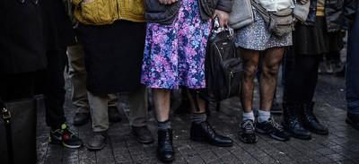 Gli uomini con la minigonna in Turchia