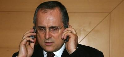 Una telefonata di Claudio Lotito, registrata